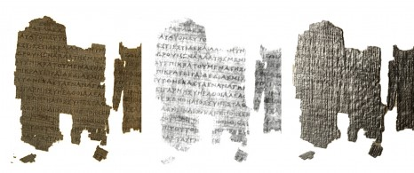 Derveni Papyrus Fragment RTI visualization